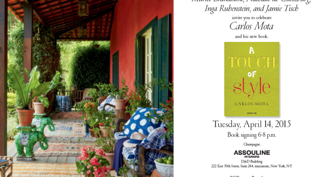 A Touch of Style – book event CARLOS MOTA