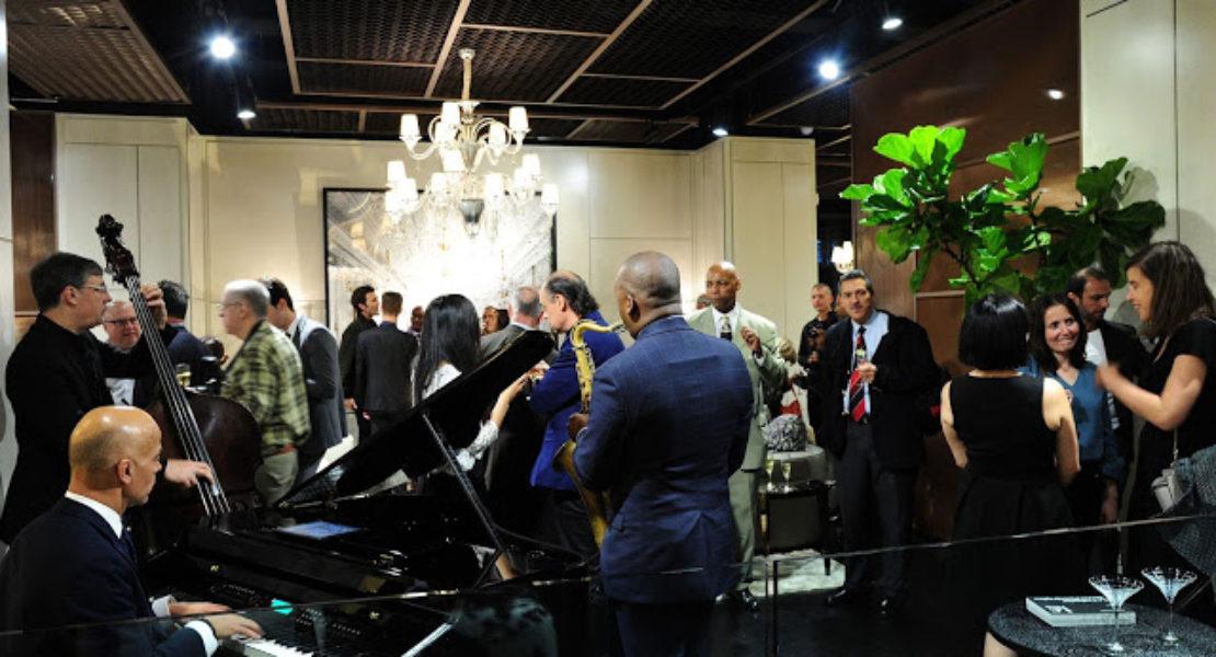 Elegant party at fendi casa for Luxury living group