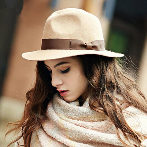 2015-fashion-bow-fedora-hat-women-wool-felt-hats20937