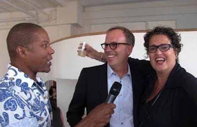 Rio Hamilton + Ed Wood (Gensler) Cindy Allen (DIFFA : Editor/Chief Interior Design Magazine)