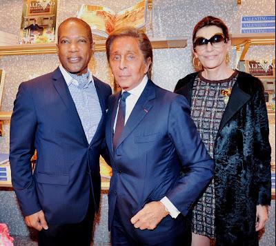 Rio Hamilton + Mr. Valentino + Martine Assouline