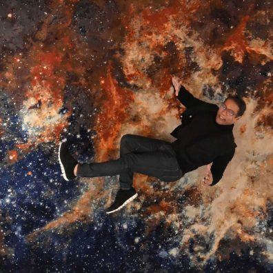 VOGUING ON A SPACECRAFT