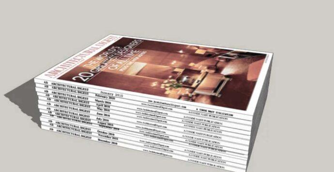 ARCHITECTURAL DIGEST – the magazine
